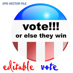 vote or else they win 01
