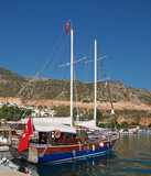 Turkish Gulet in kalkan