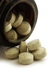 Ginkgo Biloba en comprimidos 银杏叶提取物片 Ginkgo Biloba tablets