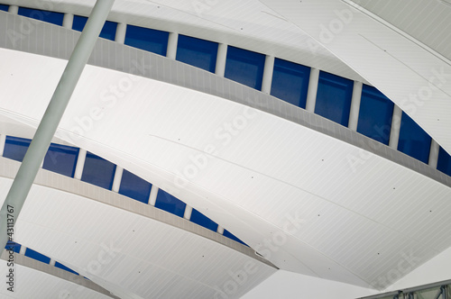 Modern Architecture on Airport Railing Station