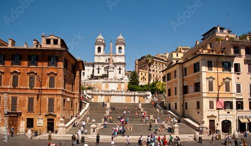 Rom Spanische Treppe Spagna