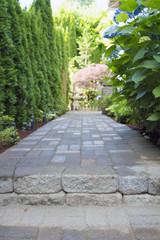 Garden Paver Path Walkway