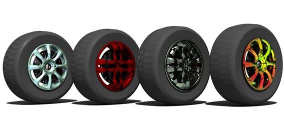 колеса для автомобиля