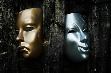 Comedy and Tragedy  - Drama Theater Masks