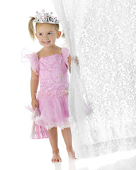 Pretty Princess Curtain-Clutcher