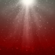 Gray-Red magic rays background