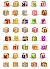 Cube Alphabet
