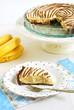 Wyjątkowe kruche ciasto z kremem bananowym