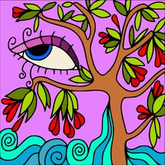albero astratto