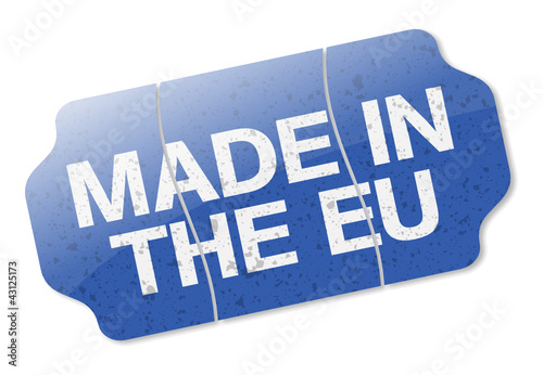 Price Tag - Made In The EU