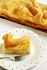 Karpatka - ciasto ptysiowe z kremem