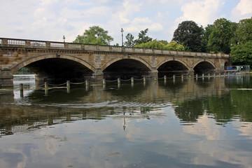 Serpentine bridge, London