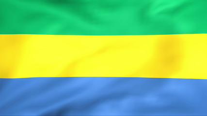 Developing the flag of Gabon