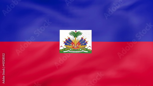 Developing the flag of Haiti