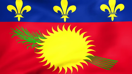 Developing the flag of Guadeloupe