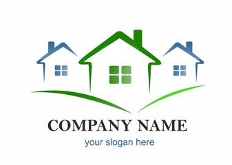 company logo - houses