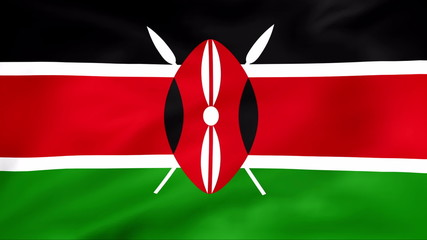 Developing the flag of Kenya