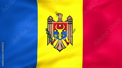 Developing the flag of Moldova
