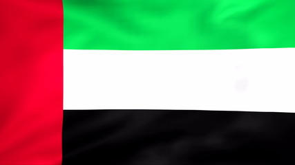 Developing the flag of United Arab Emirates