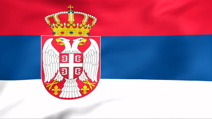 Developing the flag of Serbia