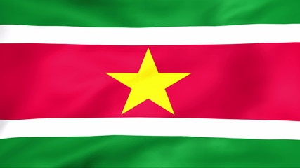 Developing the flag of Suriname