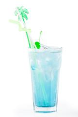Blue laguna coctail