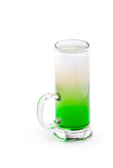 Short coctail green mexican