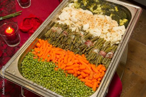 gemüseplatte buffet - 43133376
