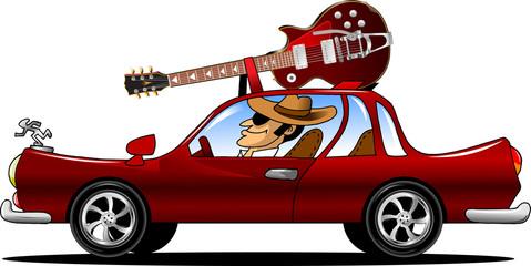 rock car