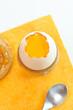 Colazione con uovo fresco