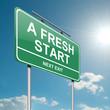 A fresh start.