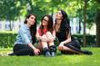 Freundinnen im Park