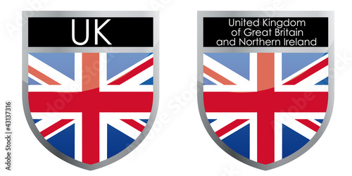 United Kingdom flag emblem