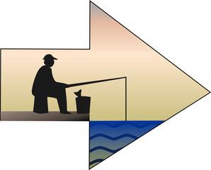 Angler – Pfeil