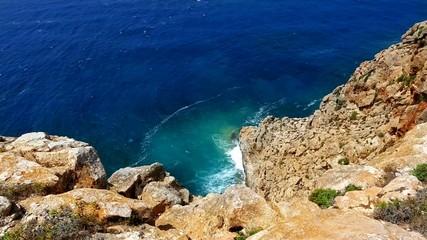 Barbaria cape Formentera lighthouse high view