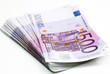 Geldscheine gestapelt