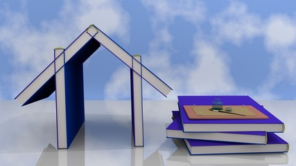 casa di libri