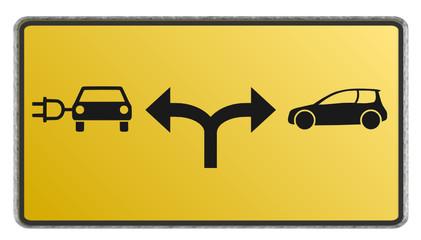 E-Auto oder Benzinmotor