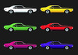 Muscle car color