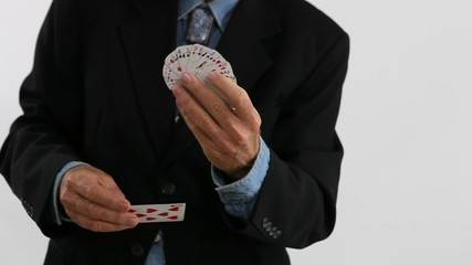 Shrinking Cards Magic Trick