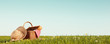 Leinwandbild Motiv Picnic on Meadow