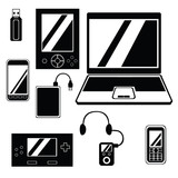 Mobile Technology Icon Set.