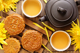 Fototapety Mooncake and Tea