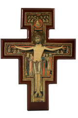 Replica of the cross of St. Francis of Assisi Italy