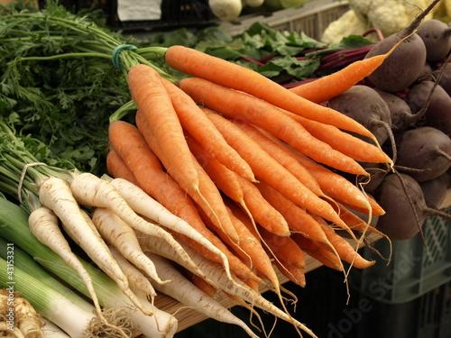 Vegetables - carrots