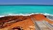 beautiful rocky escalo beach in balearic islands