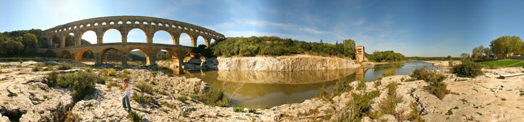 Ponte del Gard (Pont du Gard) Francia