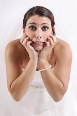 Bride's fear...