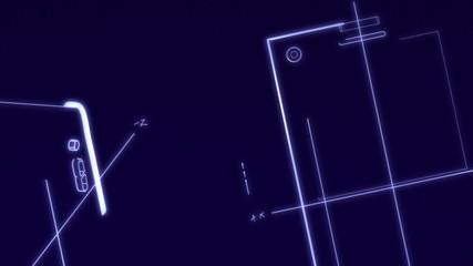 Smartphone Technical Design Animation