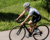 Radfahrer auf dem Rennrad